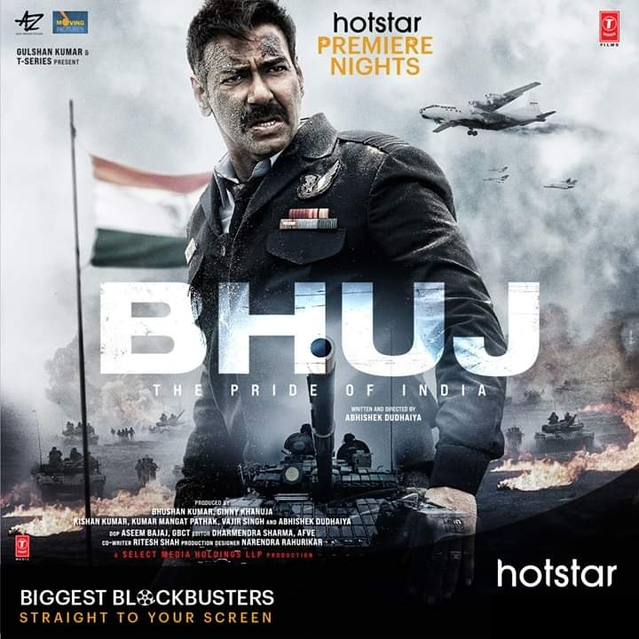 Bhuj Upcoming on Hotstar