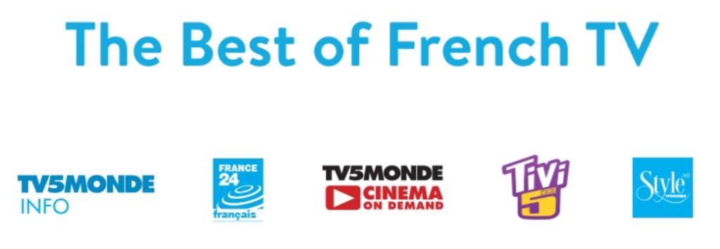 Sling tv international French  channels & Shows